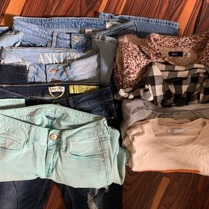 Denim - Not so Mystery box trendy teen fashion